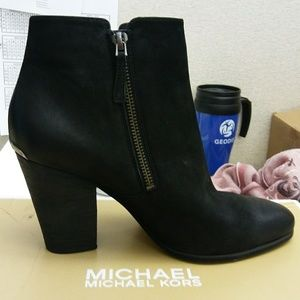 New in Box Michael Kors leather boots